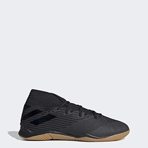 adidas Men's Nemeziz 19.3 Indoor Soccer Shoe, Utility Black, 9 M US