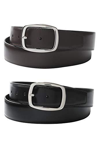 [해외]킹 사이즈 남자 빅 > 키가 큰 리버시 블 가죽 드레스 벨트 / Kingsize Men`s Big & Tall Reversible Leather Dress Belt