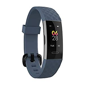 Noise ColorFit 2-Smart Fitness Band with Coloured Display, Activity Tracker with Steps Counter, Heart Rate Sensor, Calories Burnt Count, Menstrual Cycle Tracking for Women (Twilight Blue)