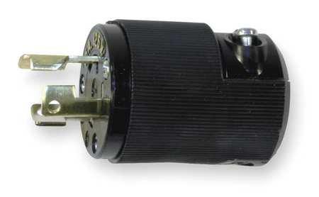 3w 2p 15p Plug (Hubbell HBL4720CBK Twist-Lock Plug 15A 125V 2P 3W L5-15P)