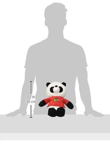 Chicago Blackhawks Corduroy Plush Panda