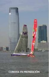 New york Barcelona transoceanic sailing record por Aa.Vv.