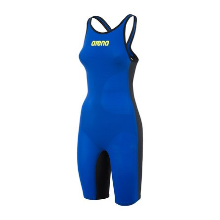 Arena Carbon Air Open Back Kneeskin Electric Blue (24)