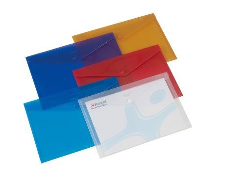 Rexel 16129AS Dokumentenmappen (DIN A4) 6 Stück farblich sortiert