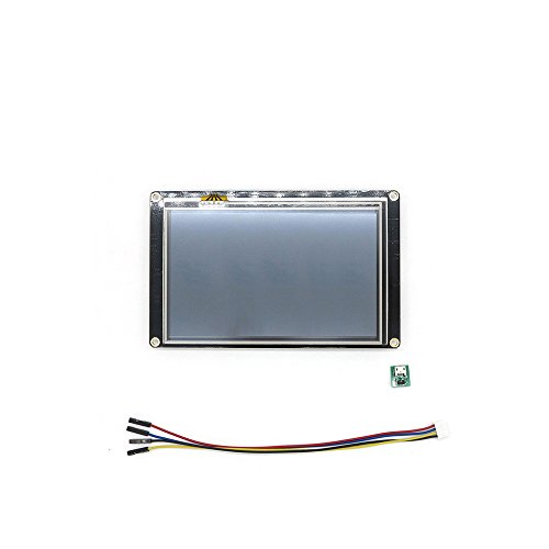 WIshioT Nextion Enhanced 7.0 inch USART HMI LCD Touch Display Screen Panel 800×480 NX8048K070 for Arduino Raspberry Pi