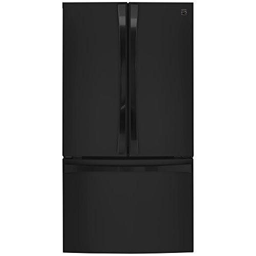 Kenmore Elite 74019 30.6 cu. ft. French Door Bottom Freezer Refrigerator in Black, includes delivery and hookup (Available in select cities - French Bottom Door Black Freezer