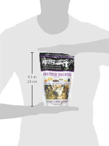 Power Up Trail Mix, Protein Packed Trail Mix, Non-GMO, Vegan, Gluten Free, Keto-Friendly, Paleo-Friendly, No Artificial Ingredients, Gourmet Nut, 14 oz Bag 7
