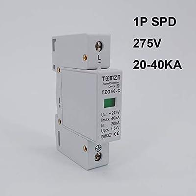 SPD 3P 20KA~40KA Low voltage House Surge arrester protection Protective Device