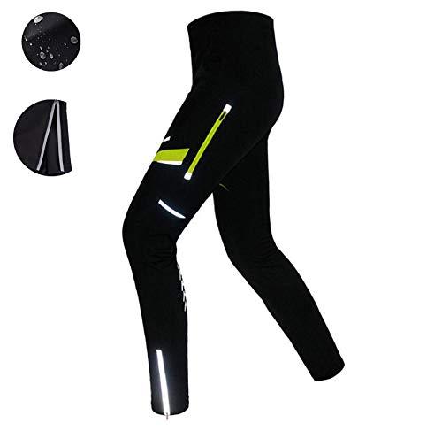 DUBAOBAO Fahrradhosen Für Herbst Und Winter, Radtrikot, Warme Hosen Für Den Außenbereich, Wasserdichtes Und Reflektierendes Design