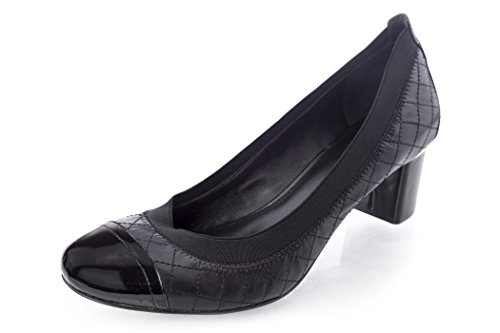 Tory Carrie Black Pumps 5 Burch 10 5Sr5nAx