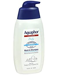 Aquaphor Baby Wash & Shampoo Fragrance Free - 16.9 oz, Pack of 2 BOBEBE Online Baby Store From New York to Miami and Los Angeles