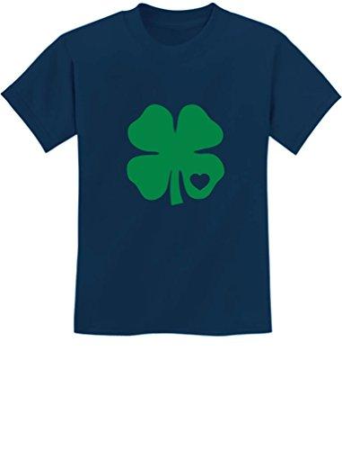 TeeStars - Green Clover Heart ST. Patrick's Irish Cute Shamrock Kids (Irish Heart Green T-shirt)