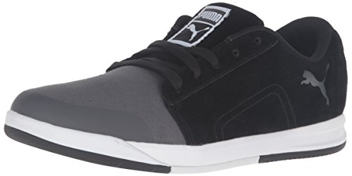 PUMA Mens Funist LO NU Fashion Sneaker Dark Shadow/Puma Black 5YYhLHubyA