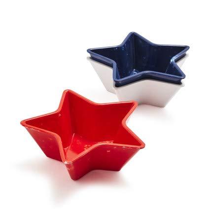 (Sur La Table Star Melamine Dip Bowls, Set of 3)