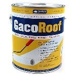 GacoRoof GR1600-1 White Silicone Roof Coating - Gallon (Shingle Flat Roof)
