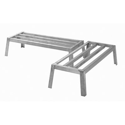"PVIFS DR2424-12 Dunnage Rack with 12"" Leg Nesting, 24"" Length x 24"" Width x 12"" Height"