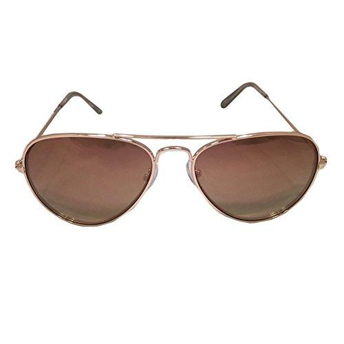 Sparkle Aviator Sunglasses - Pince Nez Sunglasses