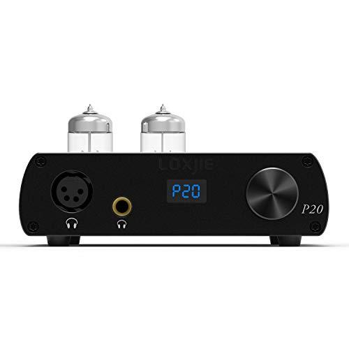LOXJIE P20 Full Balance Tube Amplifier Headphone Power Amplifier (Black) ()