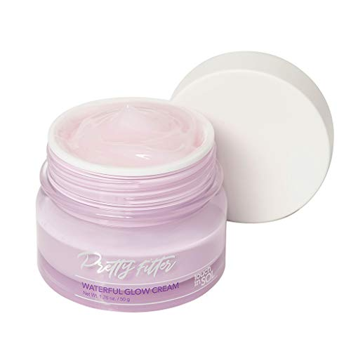 TOUCH IN SOL Pretty Filter Waterful Glow Cream 1.69 fl.oz. (50g) - Moisture Boosting Facial Cream for Makeup… 2