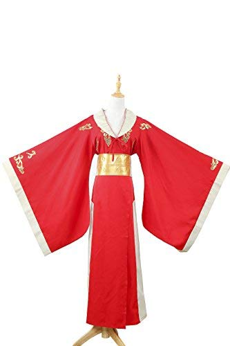 Game of Thrones the Queen of Kings Landing Cersei Lannister Dress Costume Halloween Party Cosplay Dress (Medium) ()