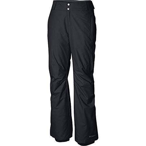 Columbia Women's Standard Bugaboo II Pant, Black, Small x Regular