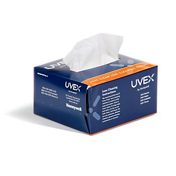 Uvex Clear Lens Cleaning Tissues (1000 Pack)