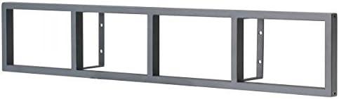 Amazon Com Ikea Lerberg Cd Dvd Wall Shelf Dark Grey Furniture Decor