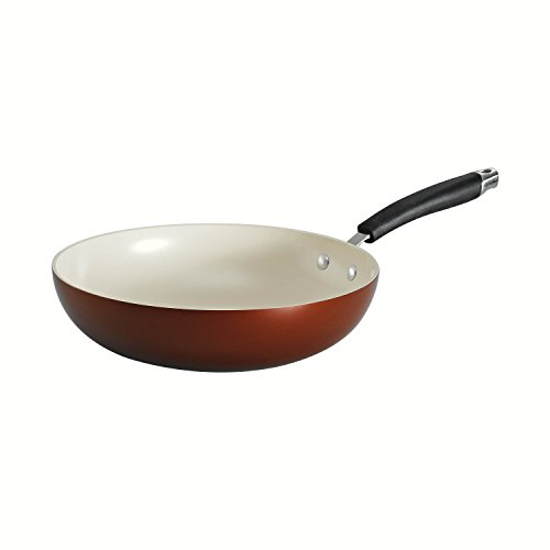 Tramontina 80110/046DS Style Ceramica 01 Stir Fry Pan, 11-Inch, Metallic Copper (Thermolon Pan compare prices)