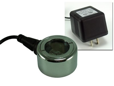 Mini-Halogen 10 watt Submersible Fountain Light w/transformer [Lawn & Patio]