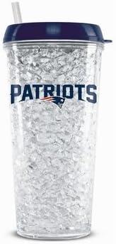 New England Patriots cristal congelador vaso: Amazon.es: Deportes ...