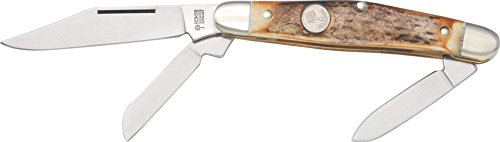 Boker 117588HH Stag Medium Stockman Steel Knife