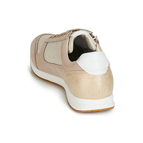 A Cream Avery Zapatillas Beige taupe Geox Para Mujer D C5033 lt aw8WRqE