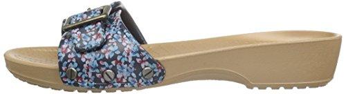 Blu navy Donna gold Sarahgrphcsndl Ciabatte Crocs twRfB6