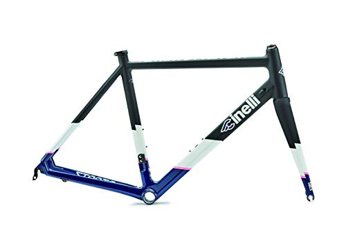 Cinelli Strato Faster Small Carbon Frameset Road Bicycle Blue On Black