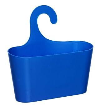 Wohnideen Shop wohnideenshop duschkorb mit haken zum einhängen blau und 15 anderen