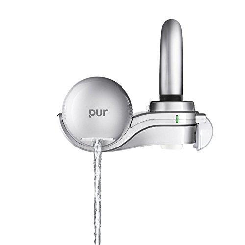 Pur 3stage Horizontal Faucet Mount Chrome Fm9400b; New; Free Shipping - Side Valve Escutcheon