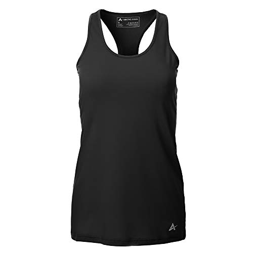 - Arctic Cool Women's Instant Cooling Tank Top Performance Tech Breathable UPF 50+ Sun Protection Moisture Wicking Comfortable Athletic Gym Quick Drying Tank, Cool Black, XXXL