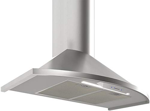 "Zephyr ZSAM90DS 36"" Chimney Range Hood"