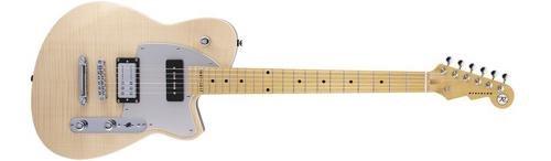 t W 20th Anniversary Maple Fingerboard Electric Guitar Natural Flame Maple (Korina Wood Guitar)