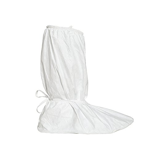Dupont Tyvek IsoClean IC458B Boot Cover, White, X-Large (Pack of 100)