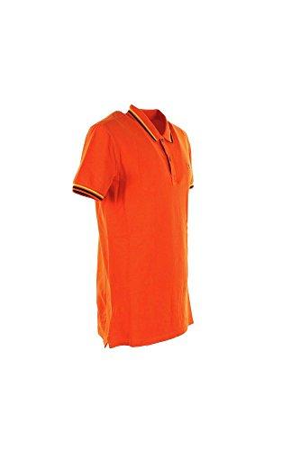 Polo Uomo Napapijri S Arancione N0yeiz Primavera Estate 2016