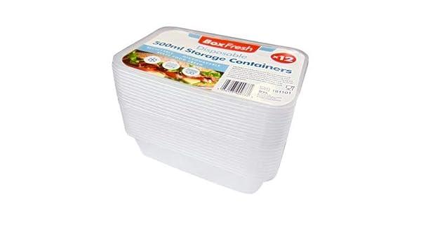 Recipiente desechable de plástico reutilizable para guardar ...