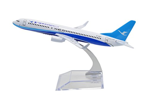 B737 Nose (TANG DYNASTY(TM) 1:400 16cm Boeing B737 China Xiamen Airlines Metal Airplane Model Plane Toy Plane Model)