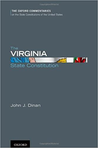 Amazoncom The Virginia State Constitution Oxford Commentaries On