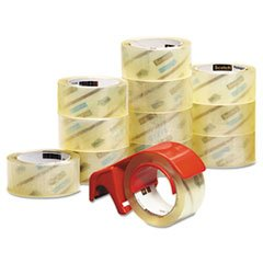 3750 Commercial Performance Packaging Tape, 1.88 x 54.6 yards, Clear,