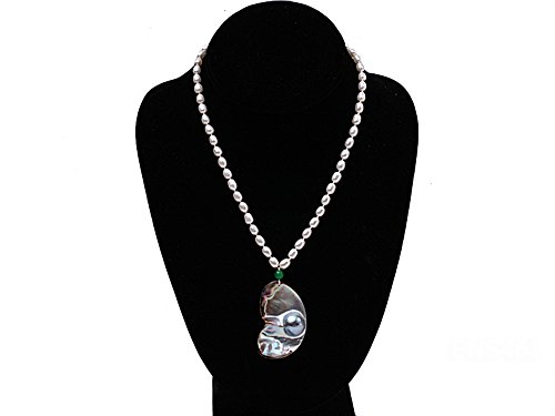 JYX 6-7mm White Freshwater Cultured Pearl Necklace for sale  Delivered anywhere in USA