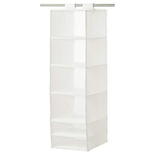 IKEA SKUBB - Almacenamiento con 6 compartimentos, blanco