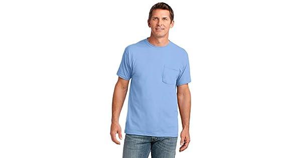 Port /& Company 5.4-oz 100/% Cotton T-Shirt4XL Carolina Blue