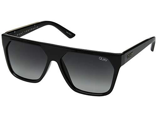 Quay Women's Very Busy Sunglasses, Black/Smoke, One ()