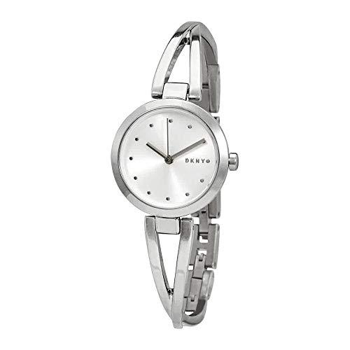 (DKNY Crosswalk Quartz Silver Dial Ladies Watch NY2789)